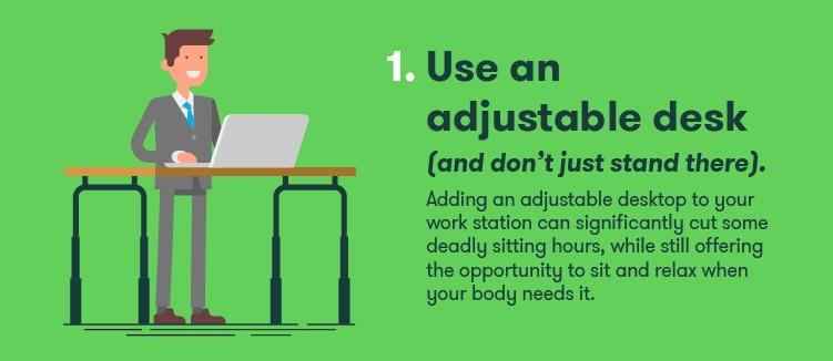 Adjustable Desk-stay-fit-at-work