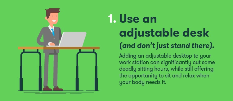 Adjustable Desk-stay-fit-at-work