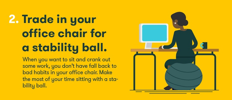 Stability Ball-stay-fit-at-work