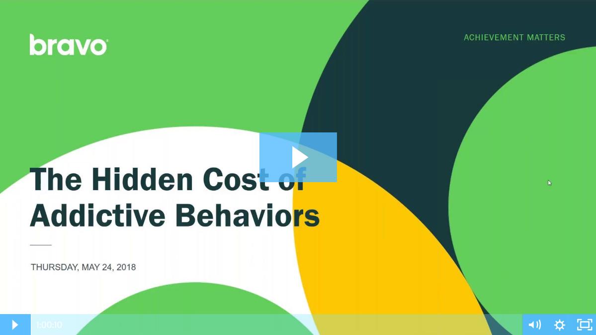 addictive behaviors webinar
