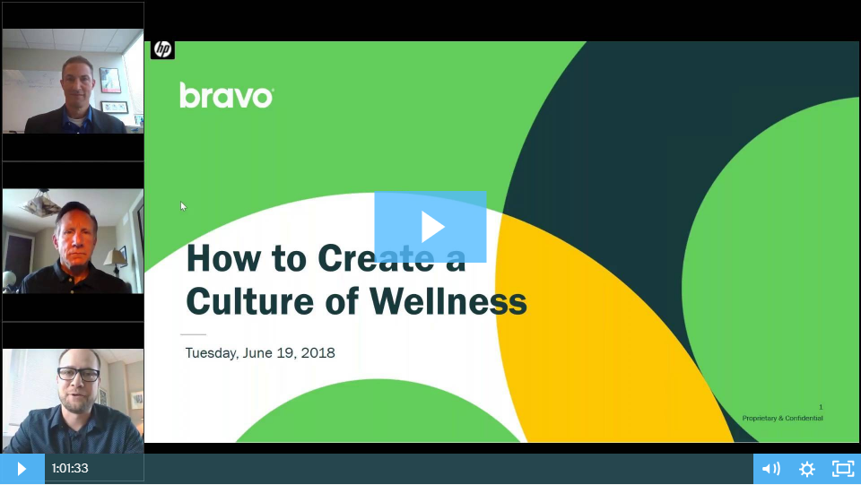 culture of wellness webinar