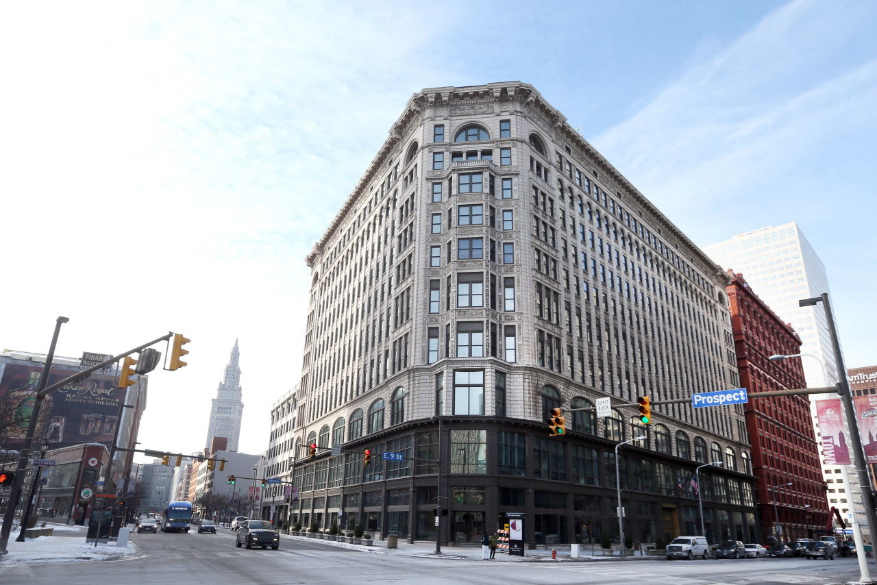 The Medical Mutual building located in Cleveland, Ohio
